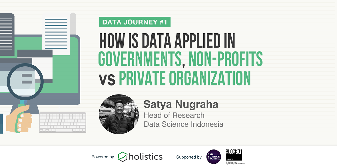 Holistics Data Journey #1 - How Data Is Applied In Governments, Non-profits vs. Private Organizations