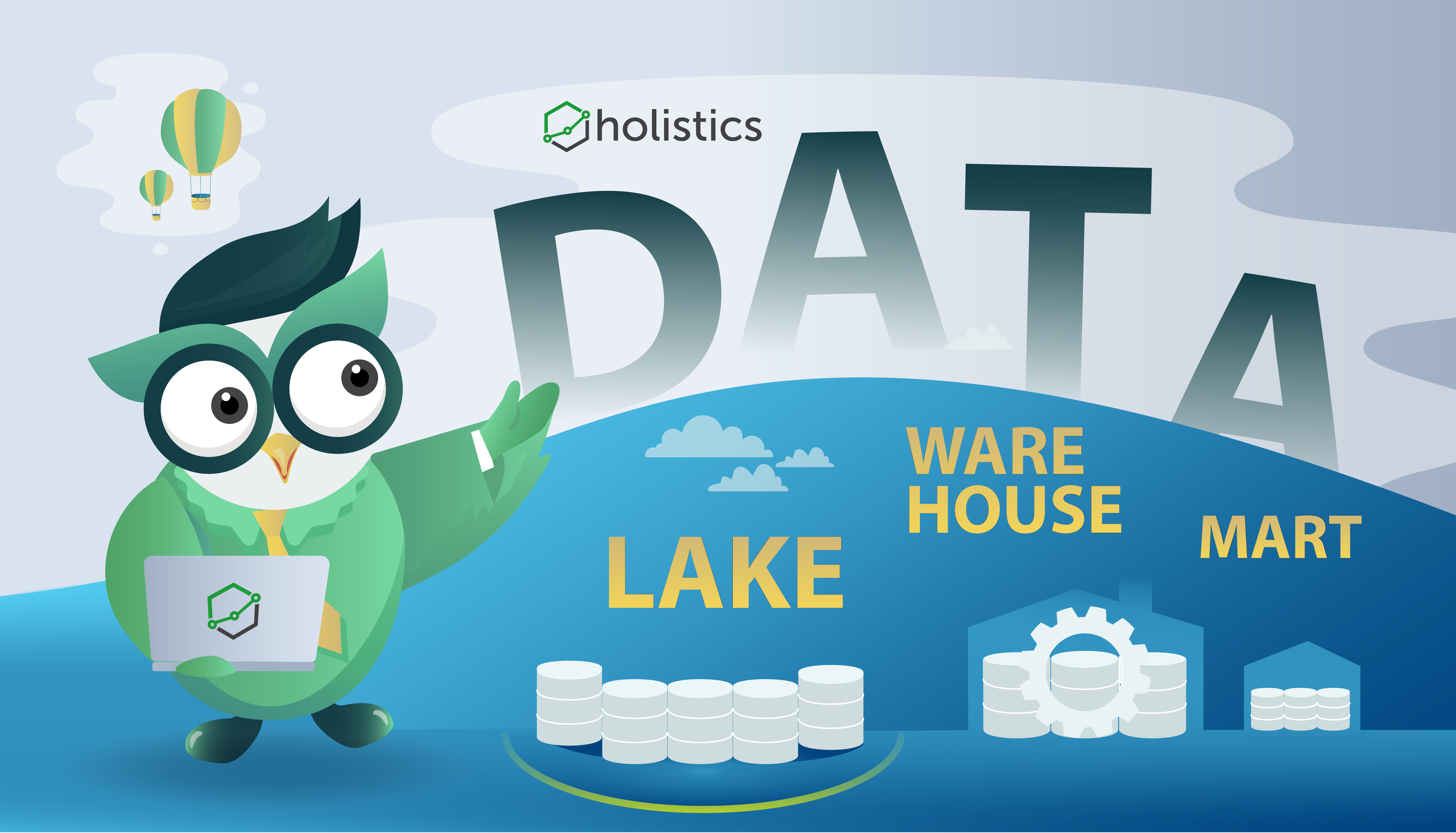 Data Lake vs Data Warehouse vs Data Mart