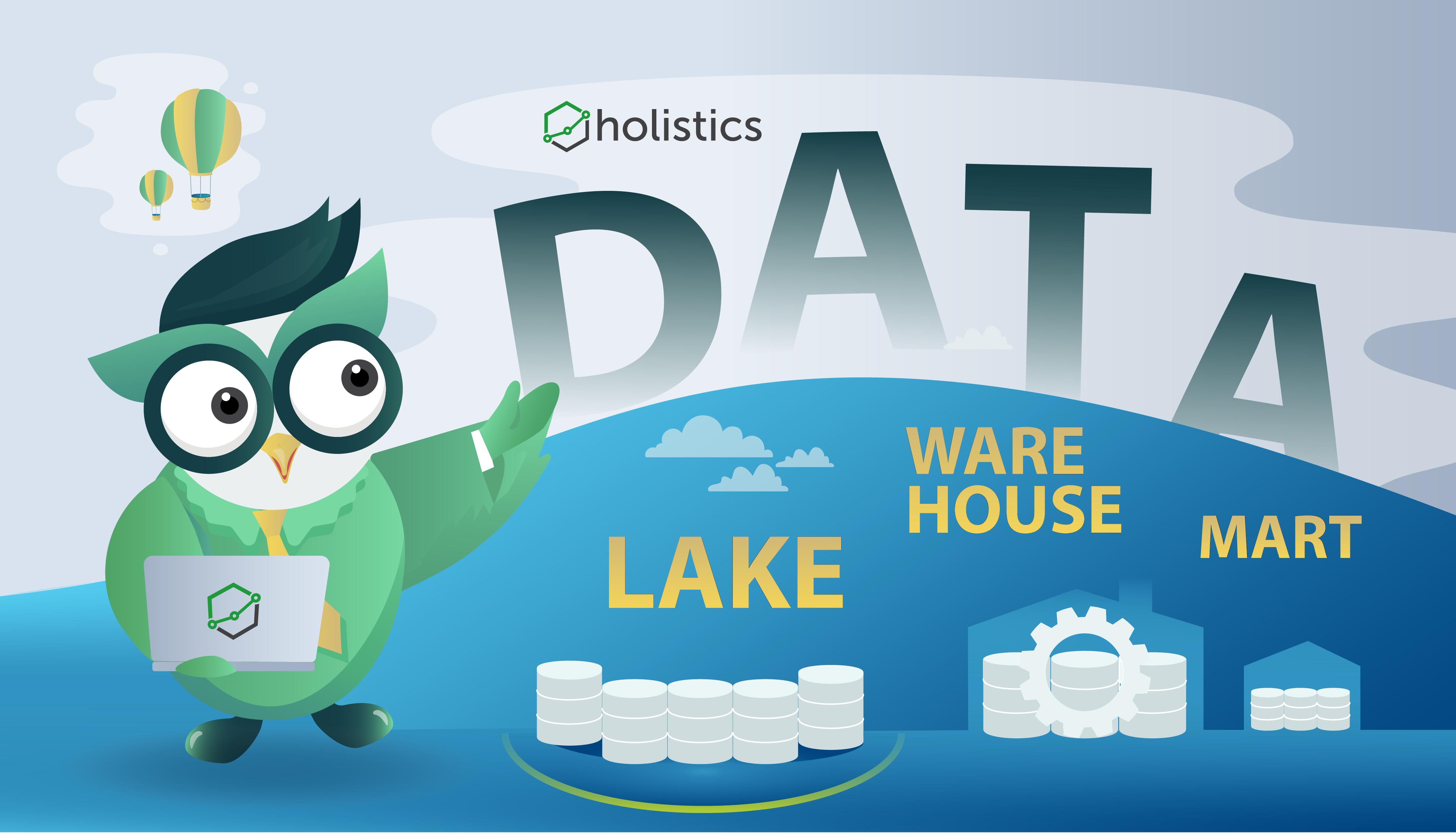 Data Lake vs Data Warehouse vs Data Mart