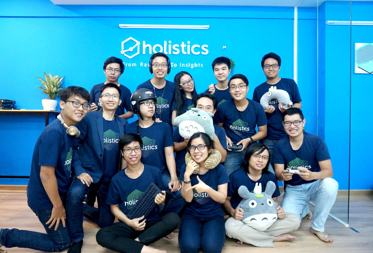 Our unstoppable team in the Saigon office