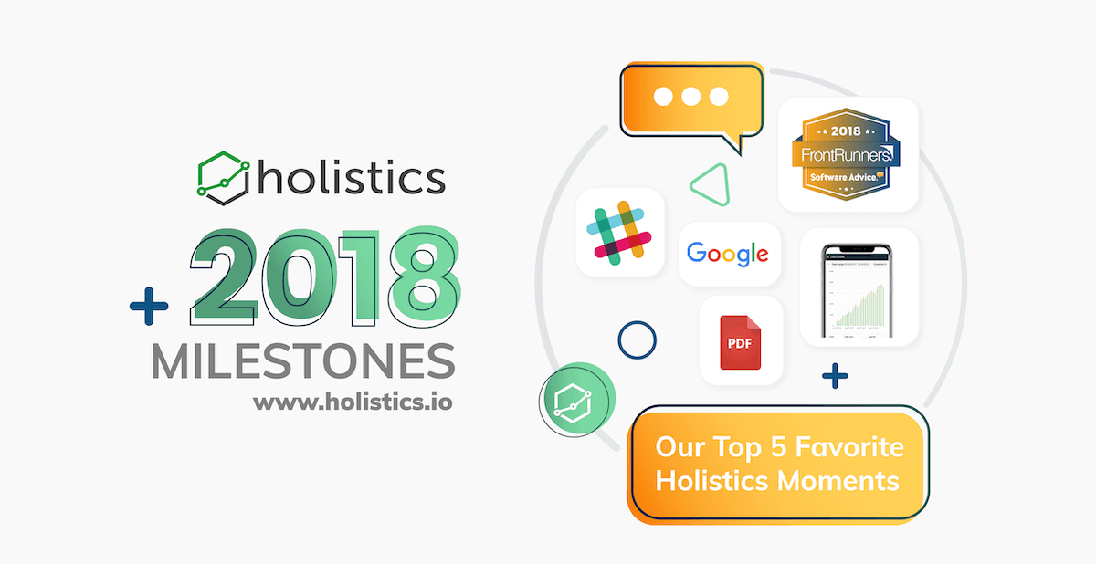 December 2018 Update: Our Top 5 Favorite Holistics Moments