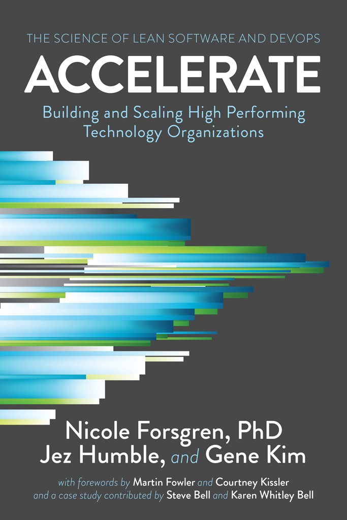 Book cover of the book Accelerate: The Science of Lean Software and DevOps