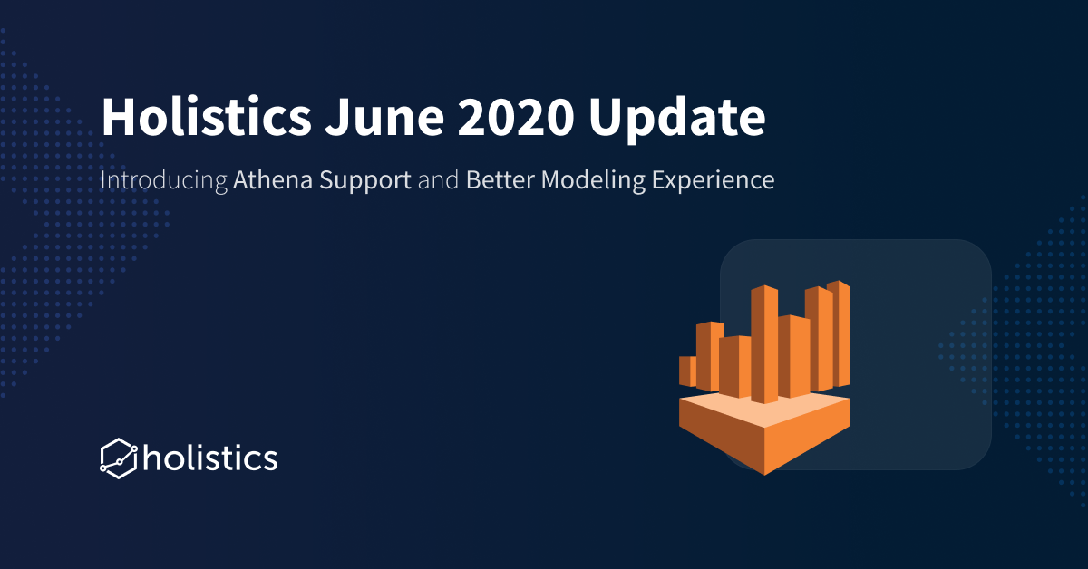 Holistics Jun 2020 Product Updates