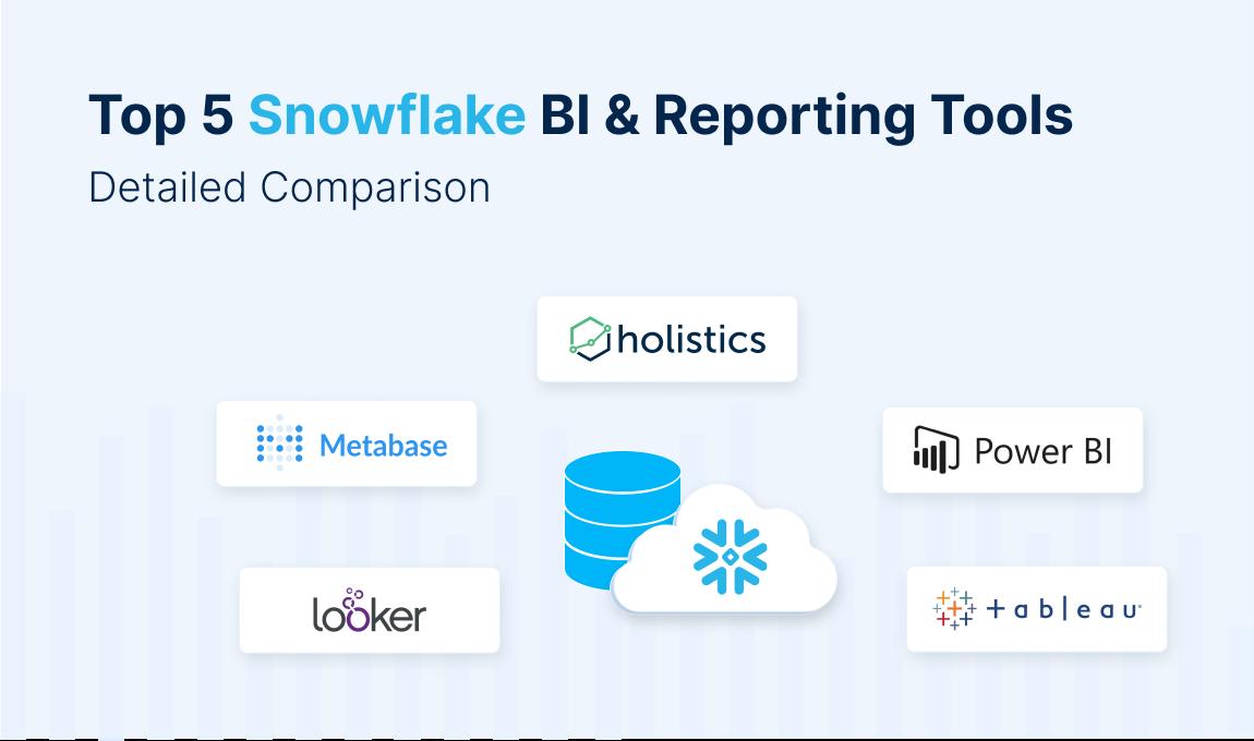 Top 5 Snowflake BI & Reporting Tools: Detailed Comparison