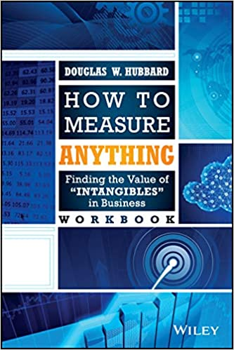 Book cover of How To Measure Anything by Douglas Hubbard