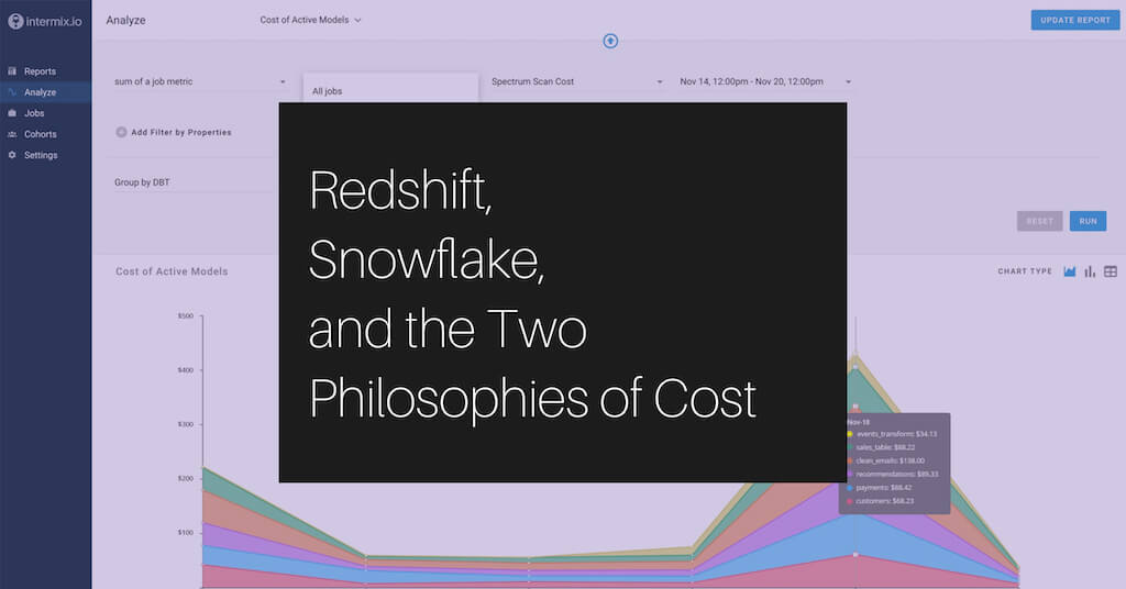 Redshift, Snowflake, and the Two Philosophies of Cost