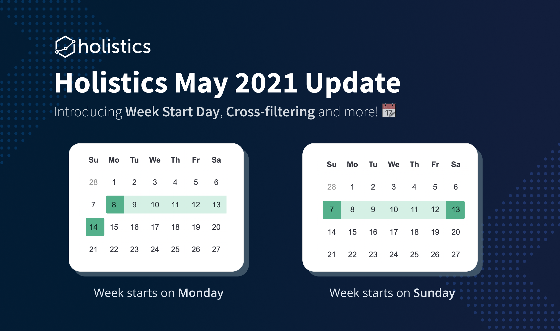 Holistics May 2021 Product Updates ⭐️