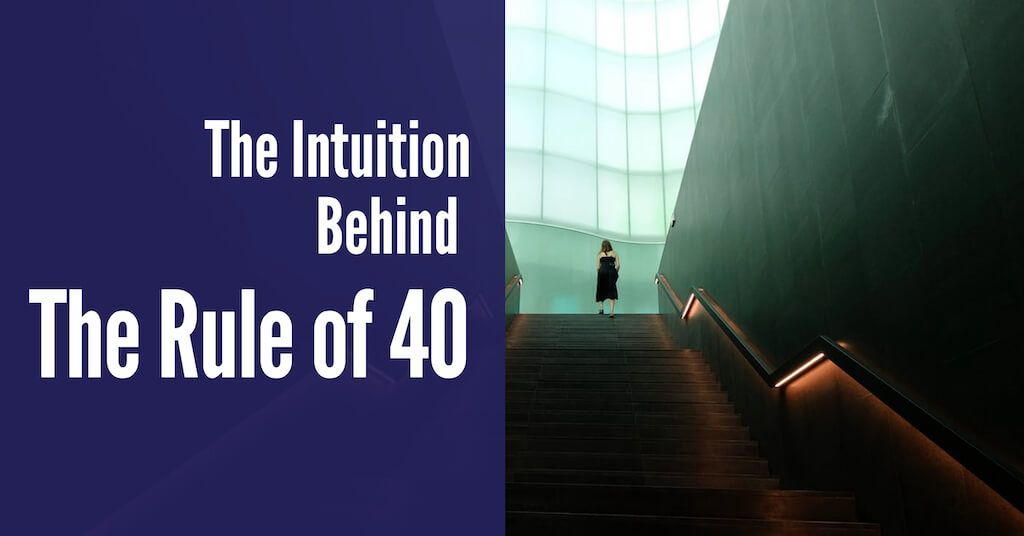 The Intuition Behind The Rule of 40